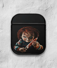 Load image into Gallery viewer, Halloween Chucky Horror case for AirPods 1 or 2 protective cover skin