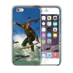 Super Hero Aquaman Iphone 4 4s 5 5s 5c SE 6 6s 7 8 X XS Max XR Plus Case n11
