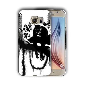 Black Panther Samsung Galaxy S4 5 6 7 8 9 10 E Edge Note 3 - 10 Plus Case n1