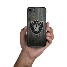 Load image into Gallery viewer, Oakland Raiders case for iphone XR X XS Max 7 8 plus silicone cover 5 6