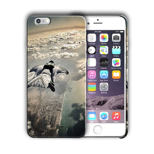 Extreme Sports Skydiving Iphone 4 4s 5 5s 5c SE 6 6s 7 + Plus Case Cover 06
