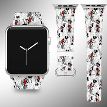 Load image into Gallery viewer, Mickey Mouse Apple Watch Band 38 40 42 44 mm Series 5 1 2 3 4 Wrist Strap 4