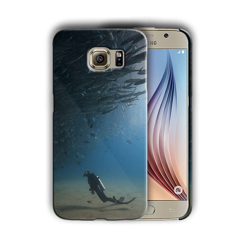 Extreme Sports Diving Samsung Galaxy S4 S5 S6 S7 Edge Note 3 4 5 Plus Case 01