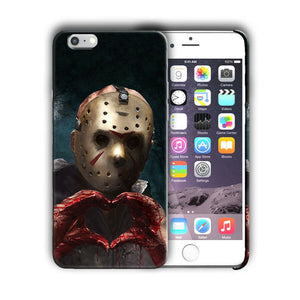 Halloween Jason Mask Horror Iphone 4s 5s 6s 7 8 X XS Max XR 11 Pro Plus Case n7