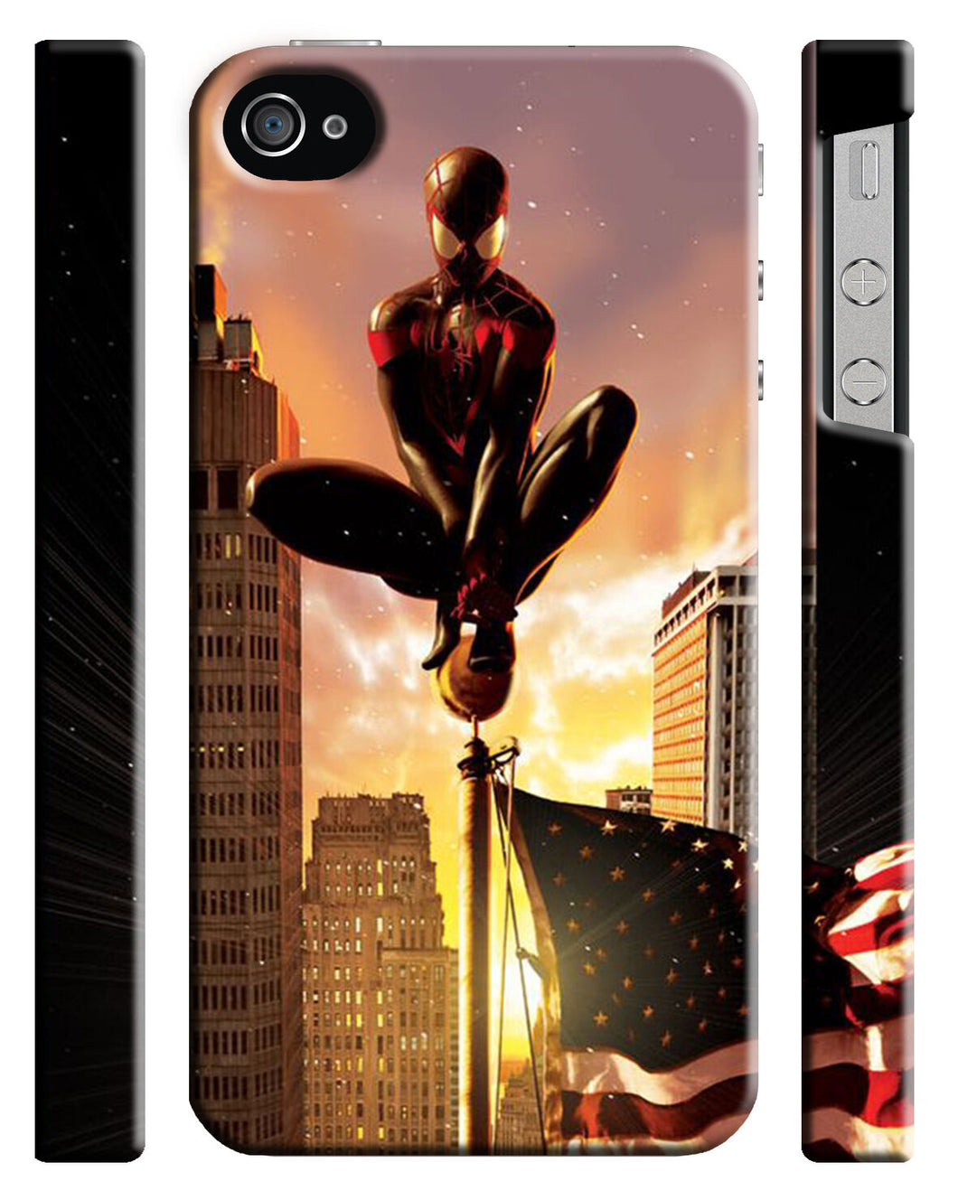 Iphone 4 4s 5 5s 5c 6 6S + Plus Cover Case Amazing Spider-Man Hero Comics 19