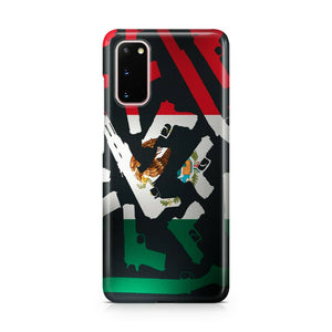 Mexico Symbol Flag case for Galaxy S20 Ultra + plus Note 20 cover