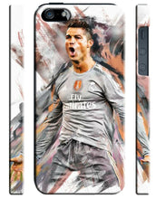 Load image into Gallery viewer, Iphone 4 4S 5 5s 5c SE 6 6S 7 8 X XS Max XR Plus SE Case Cristiano Ronaldo 1