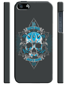 Star Wars Sith Darth Maul Skull Logo Iphone 4 4s 5 5s 5c 6 6S + Plus Case Cover