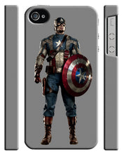 Load image into Gallery viewer, Captain America Avengers Iphone 4 4s 5 5s 5c 6 6S + Plus Cover Case Comics