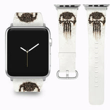 Load image into Gallery viewer, Punisher Apple Watch Band 38 40 42 44 mm Series 5 1 2 3 4 Fabric Leather Strap 6