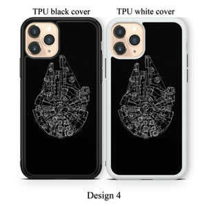 Star Wars Starfighter case for Google Pixel 4 3 3a XL TPU rubber cover SN