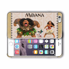 Load image into Gallery viewer, Moana Maui Pua Hei Hei Iphone 4 4s 5 5s 5c SE 6 6s 7 Plus Case Cover 08