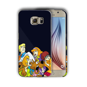 Scooby-Doo Anime Samsung Galaxy S4 5 6 S7 S8 Edge Note 3 4 5 8 Plus Case Cover 1