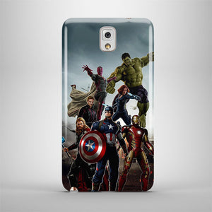 Avengers Age Of Ultron Samsung Galaxy S4 S5 S6 7 8 Edge Note 3 4 5 8 + Plus Case