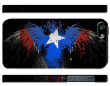 Load image into Gallery viewer, Puerto Rico Symbol Eagle Flag Boricua iPhone 4S 5 5S 5c 6 6S 7 + Plus Case Cover