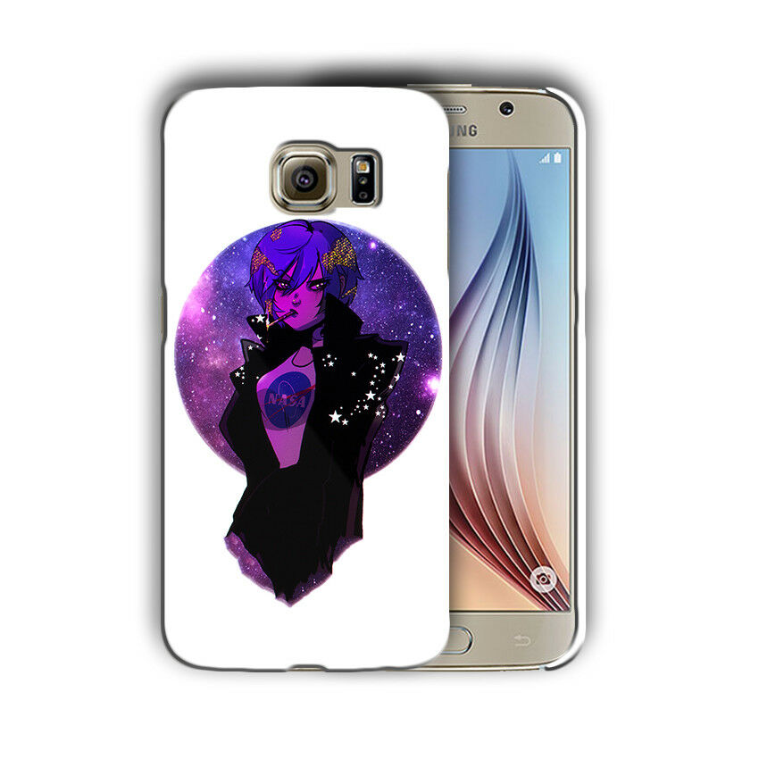 Earth Chan Anime Samsung Galaxy S4 5 6 7 8 Edge Note 3 4 5 8 + Plus Case Cover 3
