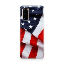 Load image into Gallery viewer, American Flag USA Galaxy S20 Ultra S20 + plus case cover