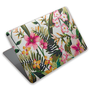 Tropical Flowers Gift MacBook case for Mac Air Pro M1 13 16 Cover Skin SN217
