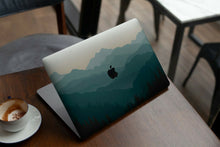 Load image into Gallery viewer, Nature Painted Mountain MacBook case for Mac Air Pro M1 13 16 Cover Skin SN159