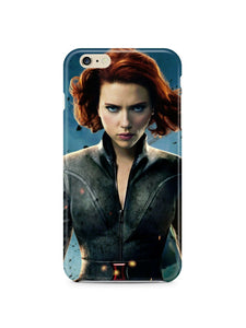 Black Widow Avengers Iphone 4 4s 5 5s 5c 6 6S + Plus Cover Case Comics Marvel