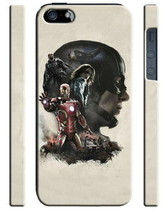 Captain America: Civil War Iphone 4 4s 5 5s 5c SE 6 6S 7 8 X Plus Case Cover 28