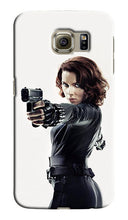 Load image into Gallery viewer, Black Widow Avengers Samsung Galaxy S4 S5 S6 Edge Note 3 4  Case Cover Kids
