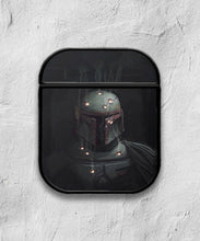 Load image into Gallery viewer, Star Wars Boba Fett case for AirPods 1 or 2 protective cover skin 01
