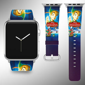 Peter Pan Disney Apple Watch Band 38 40 42 44 mm Series 5 1 2 3 4 Wrist Strap 01