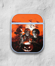 Load image into Gallery viewer, Halloween Freddy Krueger Horror case for AirPods 1 or 2 protective cover skin