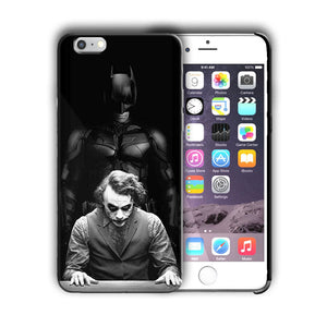 Super Hero Batman Joker Iphone 4 4s 5 5s 5c SE 6s 7 8 X XS Max XR Plus Case n5