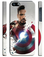 Load image into Gallery viewer, Captain America: Civil War Iphone 4 4s 5 5s 5c 6 6S 7 + Plus Case Cover 1