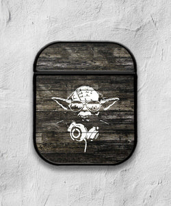 Star Wars Yoda case for AirPods 1 or 2 protective cover skin 01