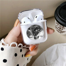 Load image into Gallery viewer, Animal Wildlife Wolf Silicone Case for AirPods 1 2 3 Pro gel clear cover SN 137