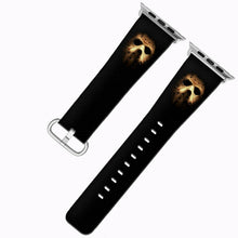 Load image into Gallery viewer, Halloween Jason Mask Apple Watch Band 38 40 42 44 mm Series 1- 5 Wrist Strap