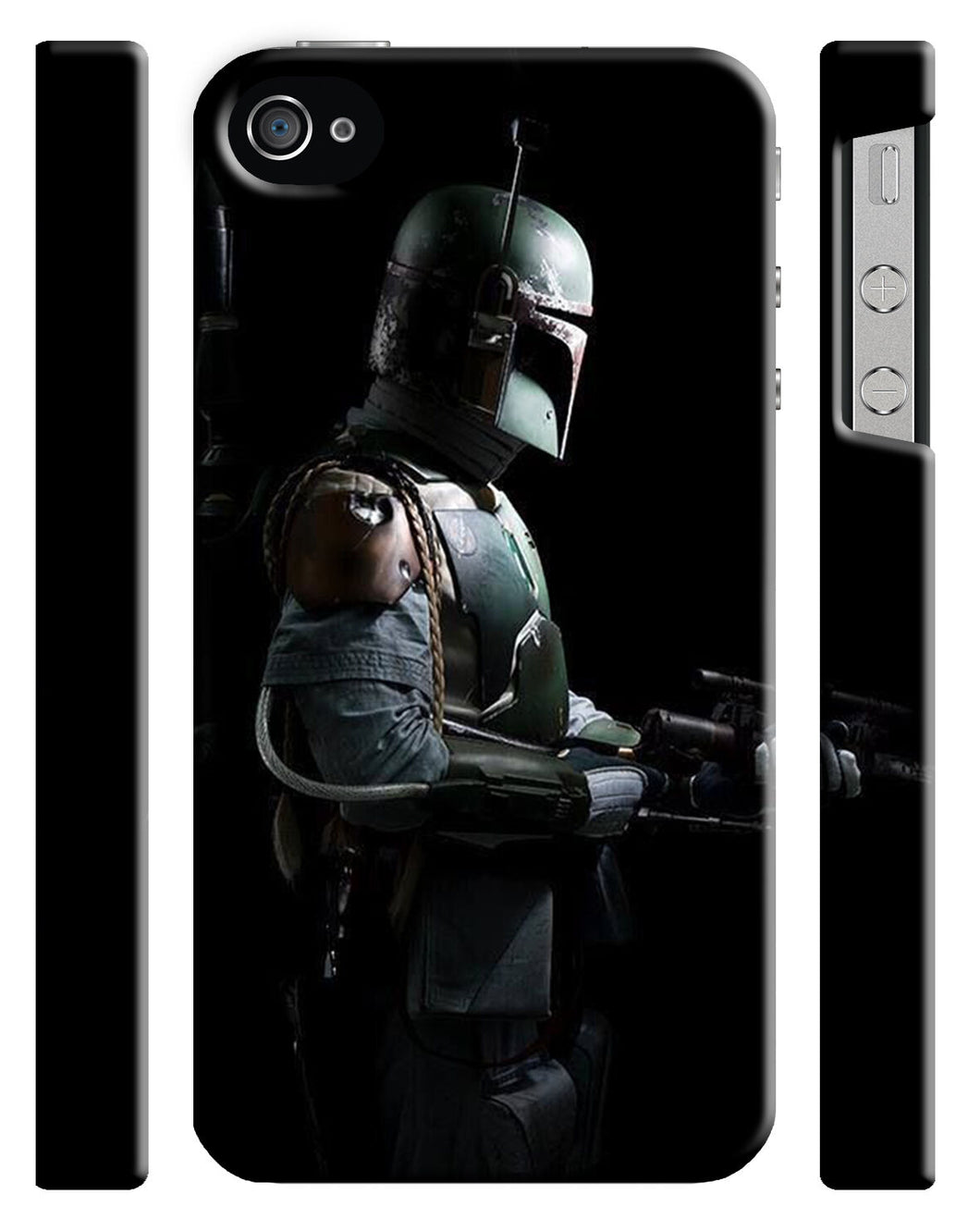 Star Wars Boba Fett Mandalorian Iphone 4 4s 5 5s 5c 6 6S + Plus Case Cover 146