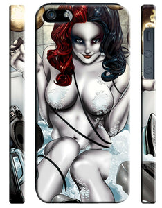 Iphone 4 4s 5 5s 5c 6 6S + Plus Case Cover Harley Quinn Character Comics 21