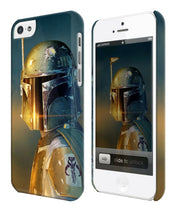 Load image into Gallery viewer, Star Wars Boba Fett Mandalorian Iphone 4 4s 5 5s 5c 6 6S 7 + Plus Case Cover 145