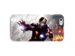Iron Man Avengers Iphone 4 4s 5 5s 5c 6 6S + Plus Cover Case Comics Kids ip2