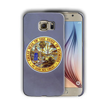 Load image into Gallery viewer, Florida Great Seal Emblem Galaxy S4 S5 S6 S7 Edge Note 3 4 5 Plus Case 03