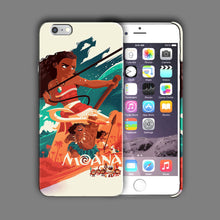Load image into Gallery viewer, Moana Maui Pua Hei Hei Iphone 4 4s 5 5s 5c SE 6 6s 7 Plus Case Cover 03