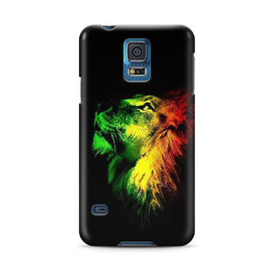 Jamajca Lion Flag Samsung Galaxy S4 S5 S6 Edge Note 3 4 Case Cover sg1