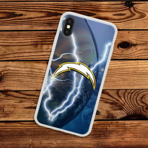 San Diego Chargers TPU bumper case cover for iphone X XS Max XR 8 7 plus 6 5