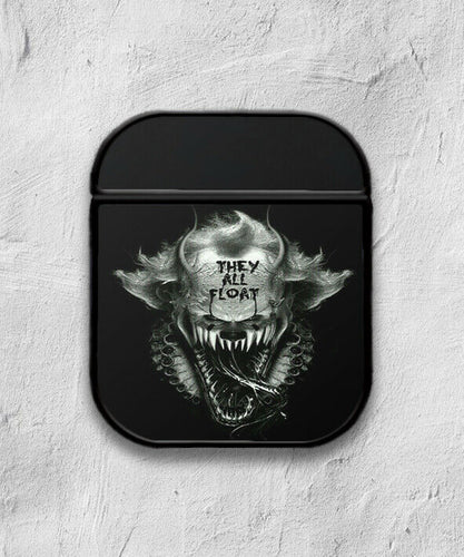 Halloween Pennywise Clown case for AirPods 1 or 2 protective cover skin