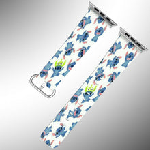 Load image into Gallery viewer, Stitch Disney Apple Watch Band 38 40 42 44 mm Series 5 1 2 3 4 Wrist Strap 01