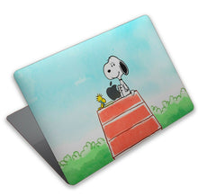 Load image into Gallery viewer, Cartoon Dog Snoopy MacBook case for Mac Air Pro M1 13 16 Cover Skin SN186