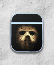Load image into Gallery viewer, Halloween Jason Mask case for AirPods 1 or 2 protective cover skin 02