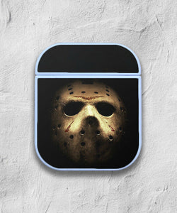 Halloween Jason Mask case for AirPods 1 or 2 protective cover skin 02