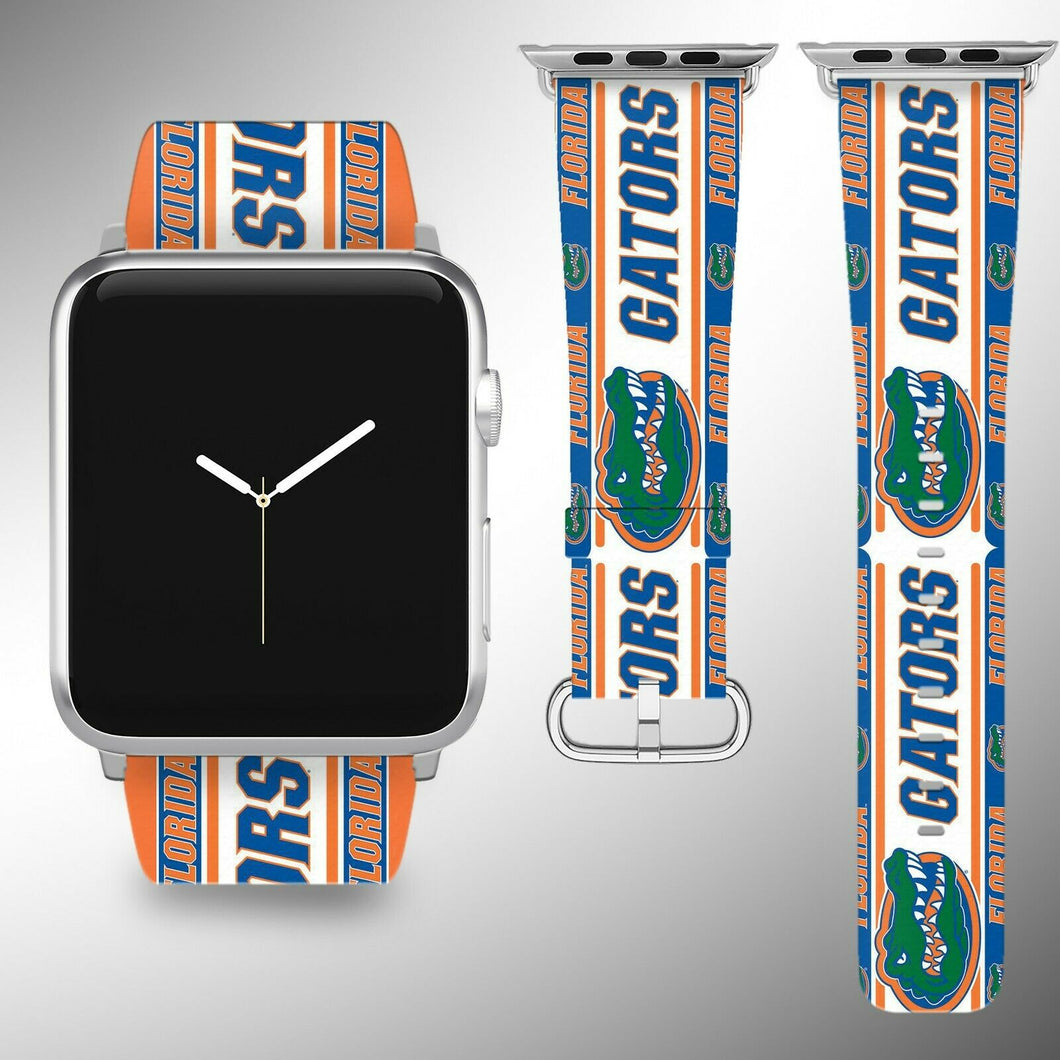 Florida Gators Apple Watch Band 38 40 42 44 mm Series 5 1 2 3 4 Wrist Strap 1