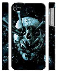 Halloween Skull Final Destination Iphone 4s 5 5s 5c 6 6S 7 + Plus Case Cover ip1