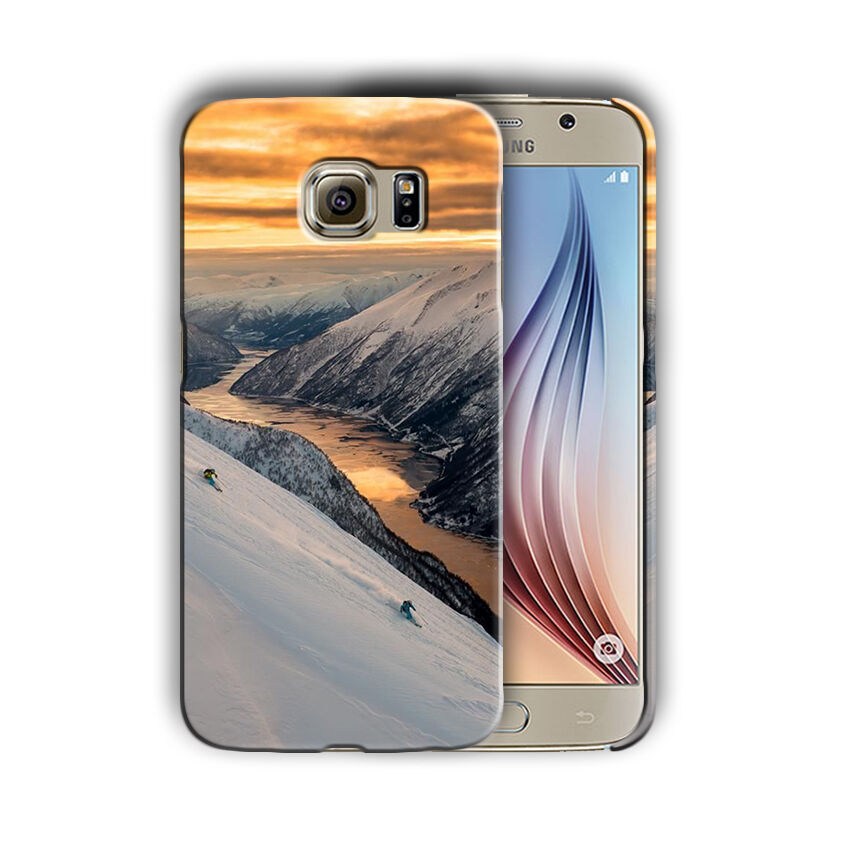 Extreme Sports Skiing Samsung Galaxy S4 S5 S6 S7 Edge Note 3 4 5 Plus Case 07
